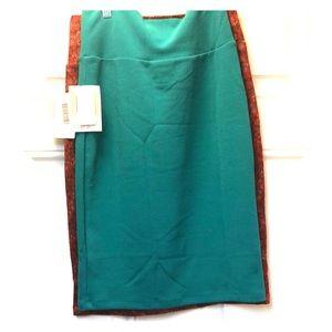 Teal Lularoe NWT skirt